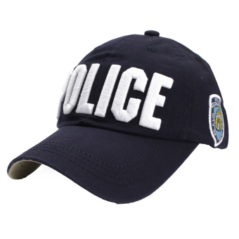 Harga Women Men Police Officer Law Enforcement Cop Costume Baseball Ball Cap Visor Hat (EXPORT)