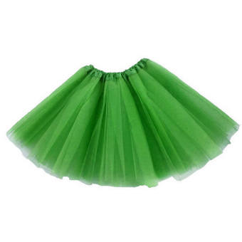 Harga Adults Teens Girl Tutu Ballet Skirt Tulle Costume Fairy Party Hens Nigh Green - intl