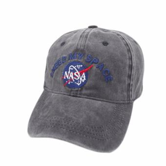 Harga Hequ Belababy Dad Hats NASA I NEED MY SPACE Bassball Caps Adjustable Snapback gorras casquette bone chic style H02(Int: One size) - intl