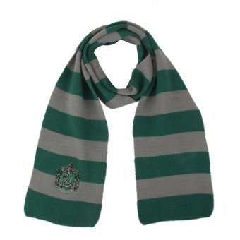 Harga Harry Potter Slytherin Cosplay Knit Wool Costume Scarf Wrap