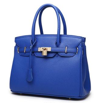Harga 3 Way Tote Bag Locker Bag LB-CA04- Blue