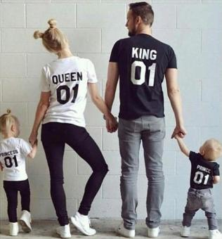 Harga Fashion Family T-shirt(For Mom) (Int:M) - Intl