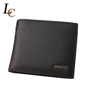 Harga Men Hasp Design Card Holder Genuine Leather Wallet With Coin Pocket Fashion Brand Wallets Coin Purse Carteira