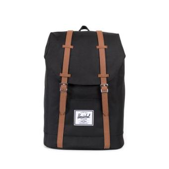 Harga Herschel Supply Co - Retreat - Black Leather