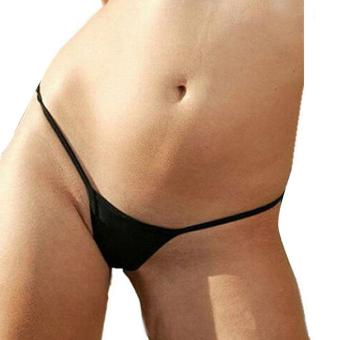 Supercart Sexy Women Underwear Solid G-String Thong Panties - intl