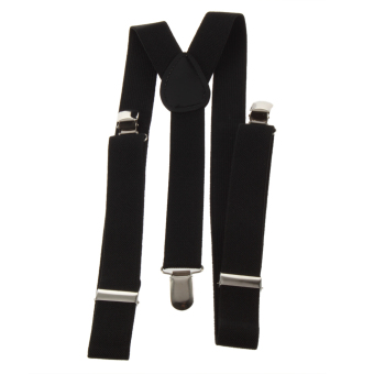 Adjustable Brace Clip-on Unisex Pants Elastic Adult Child Y-back Suspender-Y