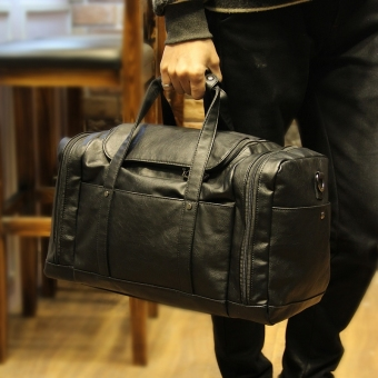 Harga Tidog The new super capacity men traveling on business bag travel bag