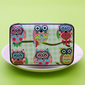 Harga Korean fashion retro style large capacity card holder card pack card pack cute bus bank card sets (6 owl)