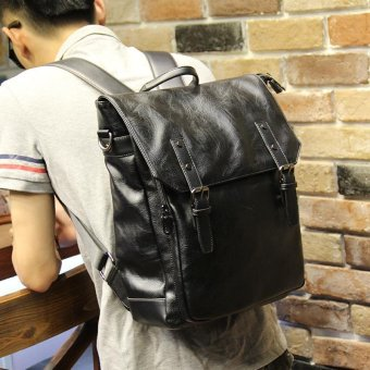 Harga Tidog Korean high school student Bag Shoulder Bag business bakcpack - intl