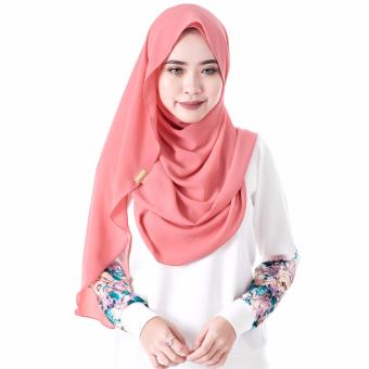 Harga Dshawl The Wudhu Friendly Instant Shawl in Watermelon