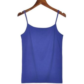 Harga Hely TOP Modal All-match Camisole Tank Top Undershirt(Navy)