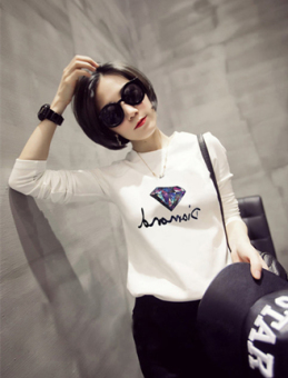 Harga Korean-style white on the female spring Ji Xiaoshan