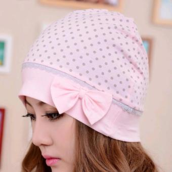 Harga Womens Cotton Hat Maternity Pregnant Breathe Windproof Cap Hat - intl