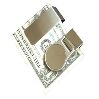 2 Pcs Slim Money Clip Credit Business Card Holde - intl