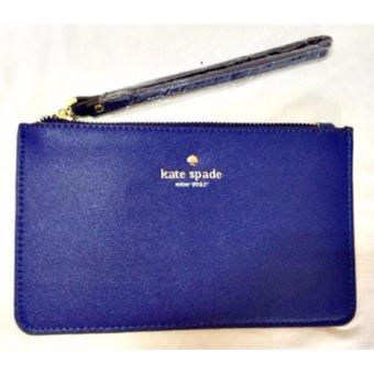 Harga PWP Kate Spade Wristlet / Cosmetic Pouch (Royal Blue)