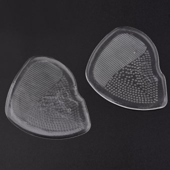 Harga Clear Antislip Soft Silicone Ball Of Foot High Heel Shoes Cushion Metatarsal Pad - intl