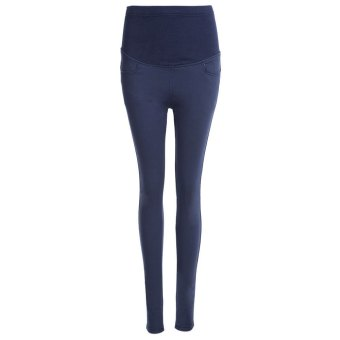 Harga Women Casual Maternity Pants (Cadetblue) - intl