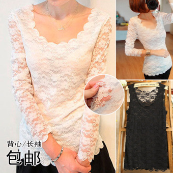 Harga Sexy spring and summer hollow crochet vest