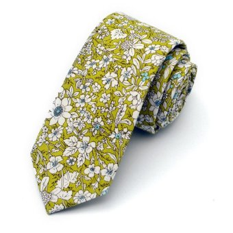 Harga Moonar Men Floral Ties Wedding Necktie Pocket Square Wedding Party Suit Accessories (MK05) - intl