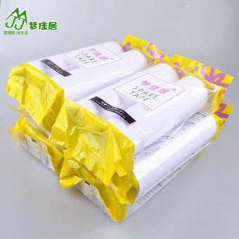 Harga Large volume 12 16 cm sticky paper wool paper sticky wool roll sticky hair roller refill replacement paper