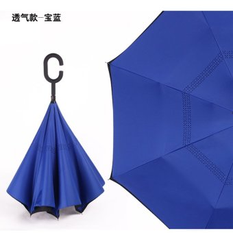 Harga Outdoor take hands-free can be double Straight umbrella