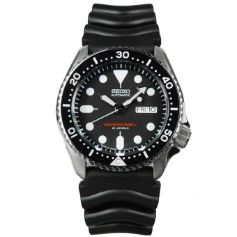 Harga Seiko Automatic Diver's Men's Resin Strap Watch SKX007J1