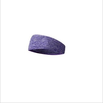Harga 2NE1 Exercise Yoga elastic headband Purple - intl