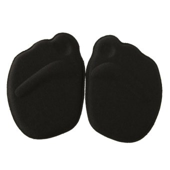 BolehDeals BolehDeals Anti-Slip Forefoot Cushion 3D Half Insoles High Heel Shoe Pads - Black (EXPORT)