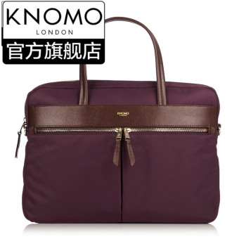 Harga Knomo British Hanover fashion commuter female bag portable diagonal 14-inch computer bag casual business bags