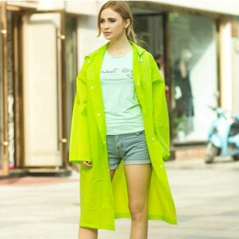 Harga Korean Fashion Raincoat (M - green)