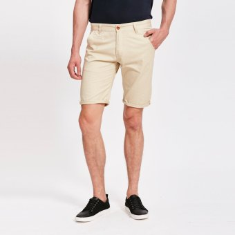 Stitch chino shorts (Stone) (EXPORT)