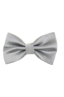 Harga Blue lans Polyester Bow Tie (Grey)