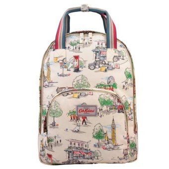 Cath Kidston BILLIE GOES TO TOWN MULTI POCKET BACKPACK