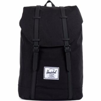 Harga Herschel Supply Co - Retreat - Matte Rubber Black