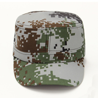 Harga Unisex Sun Visor Army Camouflage Military Soldier Hats Jungle Caps - Intl
