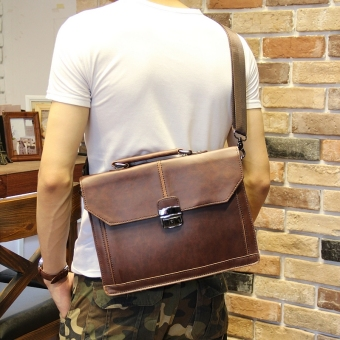 Harga Tidog new briefcase business bag handbag worn thin shoulder bag business bag