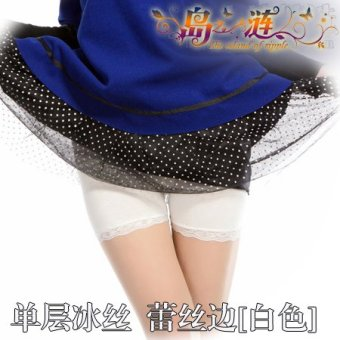Harga Sweet spring and summer Safety pants three pants Short skirts