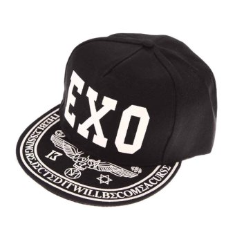 Harga Men Women Baseball Cap Snapback Night Glow Hip-hop Visor Hat EXO