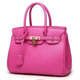 Harga 3 Way Tote Bag Bag Locker Bag LB-CA04 Pink