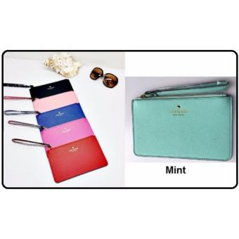 Harga PWP Kate Spade Wristlet / Cosmetic Pouch (Mint)
