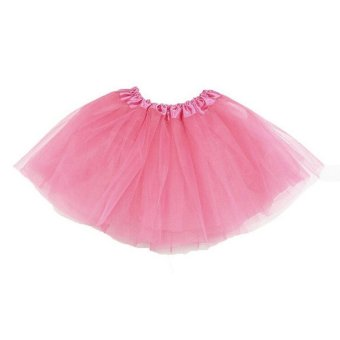 Harga Adults Teens Girl Tutu Ballet Skirt Tulle Costume Fairy Party Hens Nigh Pink - intl