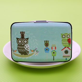 Harga Korean fashion retro style large capacity card holder card pack card pack cute bus bank card sets (4 owl)