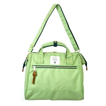 Harga Authentic Japan anello 2 way boston bag shoulder bag Japan hot selling (Large size, Light Green)