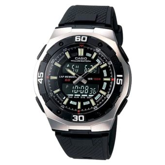 Harga Casio Analog Digital Dual Time Watch AQ164W-1A