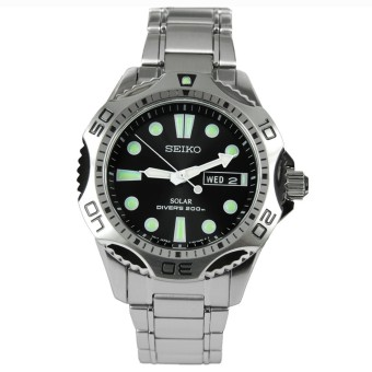 Harga Seiko Men's Stainless Steel Solar Divers Sports Watch SNE107P1