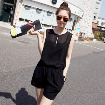 Harga Korean-style chiffon New style spring and summer even clothing pants