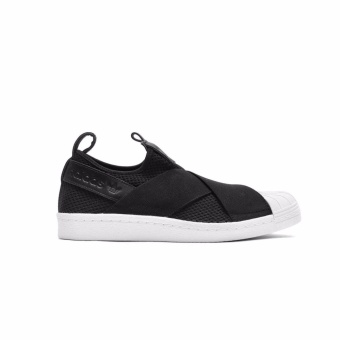 Harga ADIDAS SUPERSTAR SLIP-ON WOMEN BLACK - intl