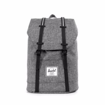Harga Herschel Supply Co - Retreat - Charcoal Crosshatch