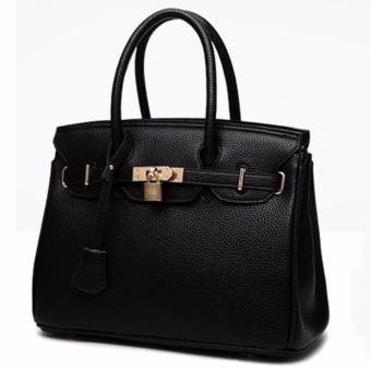 Harga 3 Way Tote Bag Locker Bag LB-CA04- Black