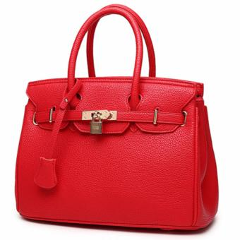 Harga 3 Way Tote Bag Locker Bag LB-CA04- Red